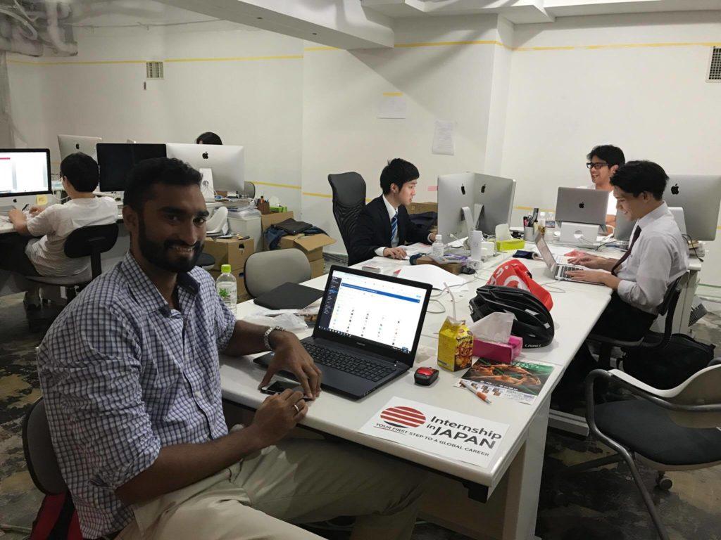 Internship in Japan Intern study 6